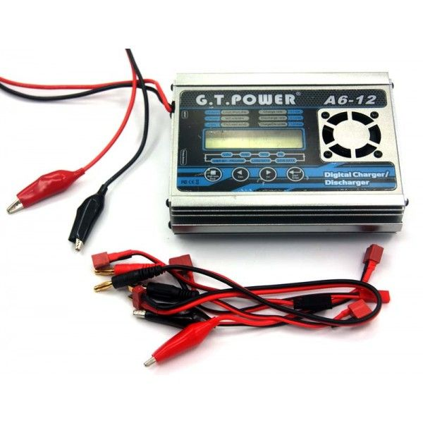 A612 - GT POWER A6-12 12A 200W CHARGER
